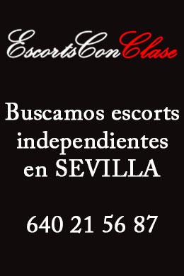 Trabajar como escort en Sevilla