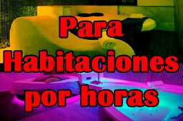 Escorts para habitaciones por horas en Madrid