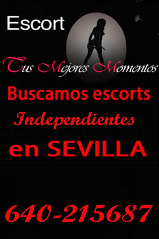 Agencia busca escorts independientes en Sevilla