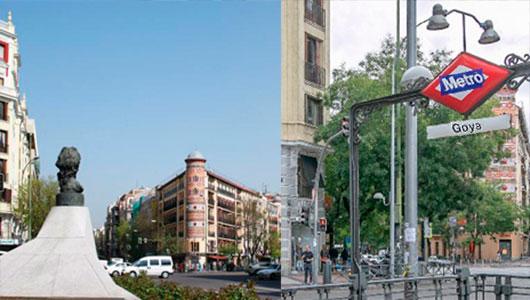 Escort en Goya, Madrid